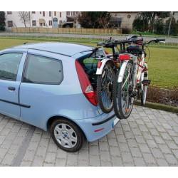 Portabici da lunotto posteriore, montaggio rapido e facile - Nordrive, made in Denmark