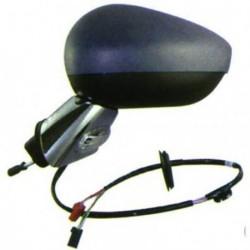 Specchio specchietto retrovisore esterno sinistro CITROEN C3 2009-04/2013, restyling 2013-, DS3 2010-2015, restyling 2015-, elettrico riscaldabile braccio cromato