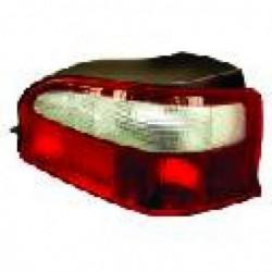 Faro fanale posteriore destro CITROEN SAXO 1996-1999 grigio rosso
