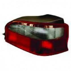 Faro fanale posteriore destro CITROEN SAXO 1996-1999 nero rosso