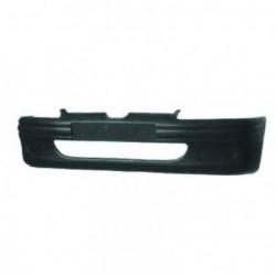Paraurti anteriore PEUGEOT 106 1996-2005 nero con fori per modanature grandi