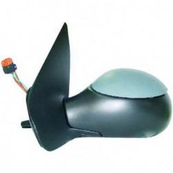 Specchio specchietto retrovisore esterno destro PEUGEOT 206 06/2003-2010 e 206+ Plus 2009-2012, elettrico riscaldabile verniciabile