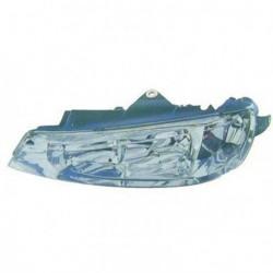 Faro fanale proiettore anteriore destro PEUGEOT 406, 05/1999-2004 H7+H7 per regolazione elettrica