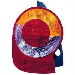 Faro fanale posteriore sinistro RENAULT MODUS 2004-12/2007 rosso arancio, senza portalampada