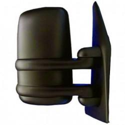 Specchio specchietto retrovisore esterno sinistro RENAULT MASTER, OPEL MOVANO, NISSAN INTERSTAR 1999-2003 braccio 60mm, convesso manuale