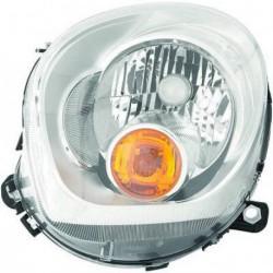 Faro fanale proiettore anteriore destro MINI COUNTRYMAN 2010- e PACEMAN 2012- H4 freccia arancio
