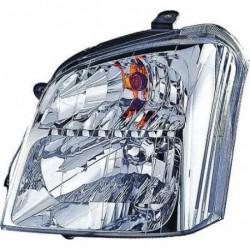 Faro fanale proiettore anteriore destro ISUZU D-MAX, 2002-2007, H4 per regolazione elettrica