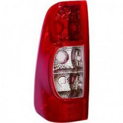 Faro fanale posteriore sinistro ISUZU D-MAX, 2007-2012 rosso chiaro, senza portalampada
