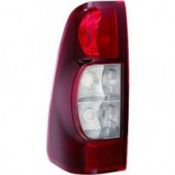 Faro fanale posteriore destro ISUZU D-MAX, 2007-2012 rosso scuro, senza portalampada