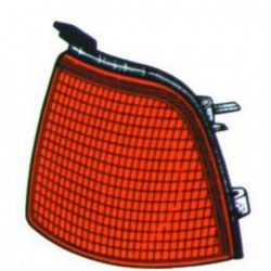 Freccia anteriore destra AUDI 80, 1986-1991 arancio senza portalampada