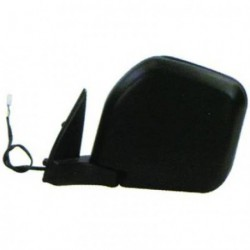 Specchio specchietto retrovisore esterno sinistro MITSUBISHI PAJERO 1997-2000 nero elettrico