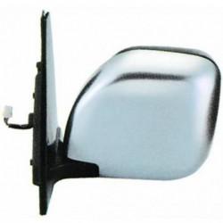 Specchio specchietto retrovisore esterno sinistro MITSUBISHI PAJERO 05/2000-01/2007 e PAJERO SPORT 1996-2004 elettrico riscaldabile cromato