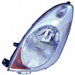 Faro fanale proiettore anteriore destro NISSAN NOTE 2005-01/2009 H4 per regolazione elettrica