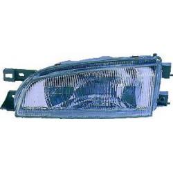 Faro fanale proiettore anteriore destro SUBARU IMPREZA 09/1996-09/1998 H4 per regolazione manuale