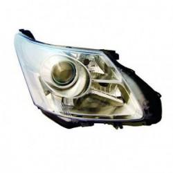Faro fanale proiettore anteriore sinistro TOYOTA AVENSIS 01/2009-01/2012 H11+HB3 per regolazione elettrica