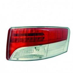 Faro fanale posteriore destro TOYOTA AVENSIS 01/2009-01/2012 berlina 4 porte, esterno a LED senza portalampada