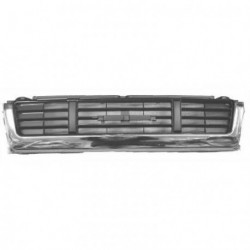Calandra griglia VW TARO e TOYOTA HILUX 1989-12/1991 per 4WD nera con finitura cromata