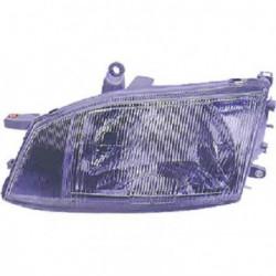 Faro fanale proiettore anteriore sinistro TOYOTA HIACE 1996-2006 H4 per regolazione elettrica