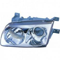 Faro fanale proiettore anteriore destro HYUNDAI TRAJET, 2000-2004 H7+H1 per regolazione elettrica
