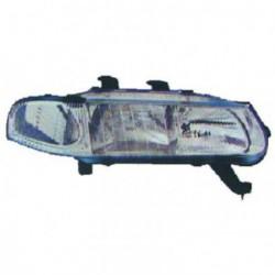 Faro fanale proiettore anteriore sinistro ROVER 400 1995-01/2000, berlina 4 porte H7+H1 per regolazione elettrica, freccia bianca