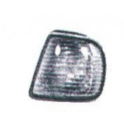 Freccia anteriore sinistra SEAT IBIZA e CORDOBA 10/1993-07/1996, INCA 1996-2004 bianca con portalampada, per fanale Valeo