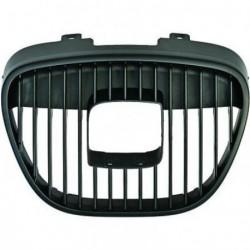Calandra griglia centrale radiatore SEAT IBIZA e CORDOBA 2002-2008 nera con bordo cromato