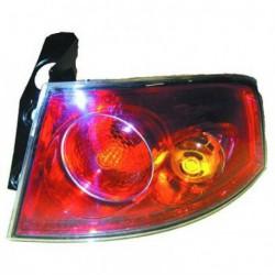 Faro fanale posteriore destro SEAT IBIZA 2002-2008 esterno, fondo rosso