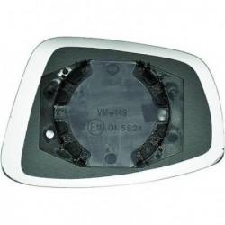 Vetro per specchio specchietto retrovisore esterno sinistro SKODA RAPID e SEAT TOLEDO 2012- convesso non riscaldabile