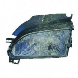 Faro fanale proiettore anteriore sinistro SEAT AROSA 08/1997-11/2000 H4 per regolazione elettrica