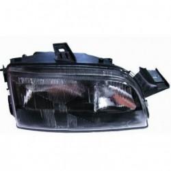 Faro fanale proiettore anteriore destro FIAT PUNTO 1993-1999 H1+H1 per regolazione elettrica, fondo scuro