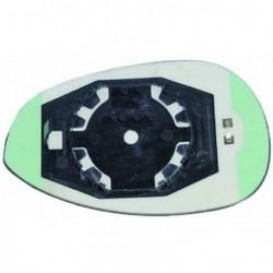 Vetro per specchio specchietto retrovisore esterno destro FIAT GRANDE PUNTO 2005-2012, PUNTO EVO 2009-2011, PUNTO 2012, LINEA, convesso riscaldabile