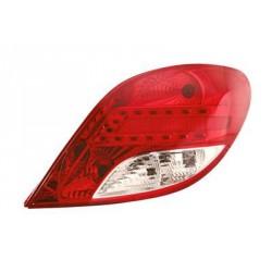Faro fanale posteriore destro PEUGEOT 207 2009-2012 3/5 porte a LED