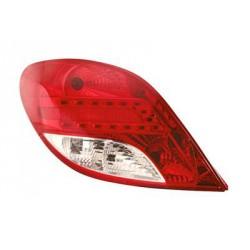 Faro fanale posteriore sinistro PEUGEOT 207 2009-2012 3/5 porte a LED