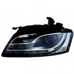 Faro fanale proiettore anteriore XENON HID destro AUDI A5 2007-10/2011 D3S+H21 VALEO senza luce curva adattiva