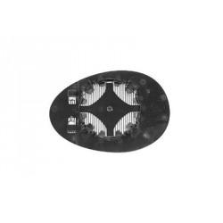 Vetro per specchio specchietto retrovisore esterno destro MINI R56 2006-2014 asferico riscaldabile