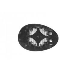 Vetro per specchio specchietto retrovisore esterno sinistro MINI R56 2006-2014 asferico riscaldabile