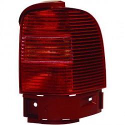 Faro fanale posteriore destro VW SHARAN 05/2000-10/2003 e SEAT ALHAMBRA fondo rosso, esterno