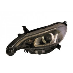 Faro fanale proiettore anteriore sinistro PEUGEOT 108, 2014-, VALEO lampada HIR2+LED per regolazione elettrica