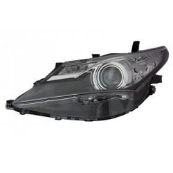 Faro fanale proiettore anteriore sinistro TOYOTA AURIS 10/2012-08/2015 lampade HIR2+LED con motorino