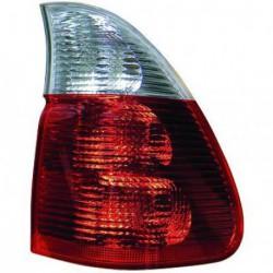 Faro fanale posteriore sinistro BMW X5 E53 2003-2007 rosso bianco esterno