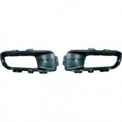Bordo profilo modanatura paraurti destro interno BMW X5, 2007-2010 nero opaco per sensori, per articolo 1291042