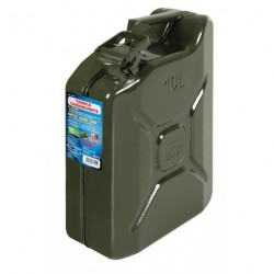 Tanica carburante tipo militare in metallo – 10 L