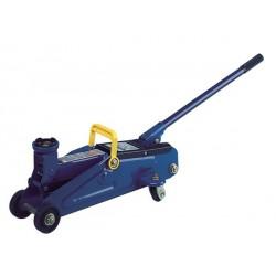 Cric idraulico a carrello - 2.000 kg – Con valigetta