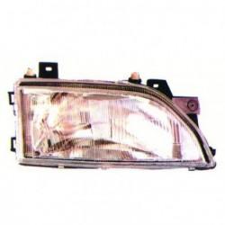 Faro fanale proiettore anteriore sinistro FORD ESCORT 1990-1995 per regolazione elettrica