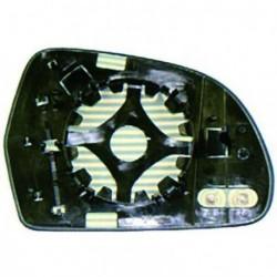 Vetro per specchio specchietto retrovisore esterno destro AUDI A4 06/2009-06/2011, A5 2011-, A3 05/2010-02/2012