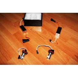 Coppia lampade H8 LED BIANCO 10W per anelli angel eyes di posizione BMW Serie 1 E81 E82 E87 E88, Serie 3 E90 E91 E92 E93, Serie 5 E60 E61, Serie 6 E63 E64, X1 E84, X5 E70, X6 E71,