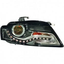 Faro fanale proiettore anteriore XENON HID destro AUDI A4 berlina Avant 2007-05/2010, D3S con motorino senza luce direzionale curva