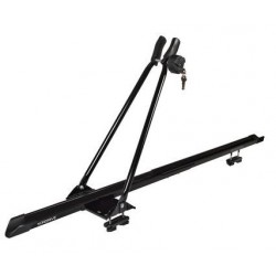 Porta bicicletta in acciaio con chiave, Nero - Nordrive, made in Denmark