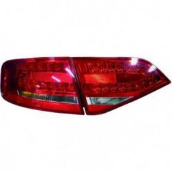 Set fari fanali posteriori TUNING AUDI A4 2007-2011 berlina, LED rosso bianco