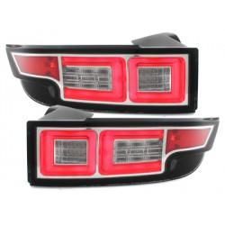 Set fari fanali posteriori TUNING per RANGE ROVER EVOQUE 2012- anche restyling 2015, cromati a LED